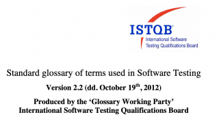 ISTQB Glossary