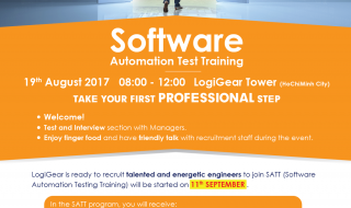 Software Automation Test Training – SATT