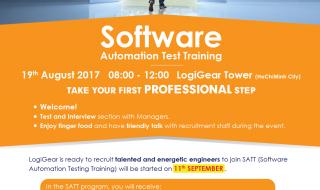 Software Automation Test Training – SATT