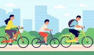 Xe đạp muốn giữ được thăng bằng, nó phải luôn di chuyển.